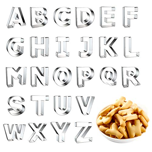 large alphabet cutters - 8