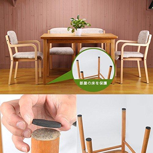 家具保護パッド、MAVEEK(マビーカ)家具パッド椅子脚キャップイス足キャップキズ防止/防音滑り止めマットフローリングの損傷防止滑りにくい家具保護用