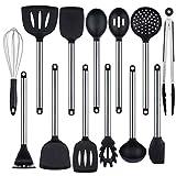 HoShip - Juego de utensilios de cocina con espátula, 13 piezas, utensilios de cocina, utensilios de cocina, juego de utensilios de cocina