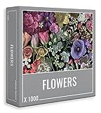 Cloudberries Flowers - Rompecabezas de flores premium de 1000 piezas para adultos, con una imagen de escanografía ultrarrealista. Fabricado en Europa.