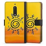 DeinDesign Étui Compatible avec Huawei Nova Plus Étui Folio Étui magnétique Naruto Shippuden...