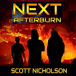 Afterburn: A Post-Apocalyptic Thriller audiobook cover art