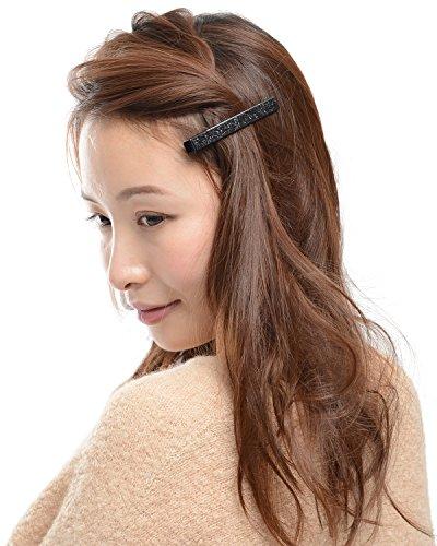 (ヴィラジオ)Viragio ヘアクリップ 2個 セット 小 小さめ シンプル ゴールド ヘアピン 髪留め くちばしクリップ シンプル ヘアアクセサリー ダッカール クリップ ブランド vi-0395-b-s