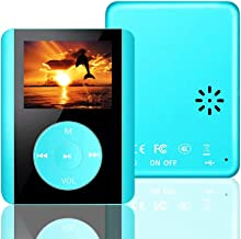 $21 Get MP3 Player, Dyzeryk MP3 Music Player HiFi Sound, 8GB Portable Digital Player with FM Radio/Voice Recorder/Photo Viewer/Text Reading, 80 Hours Playback, Supports up to 64GB