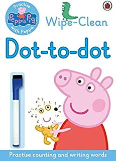 Peppa Pig: Practise with Peppa: Wipe-clean Dot-to-Dot