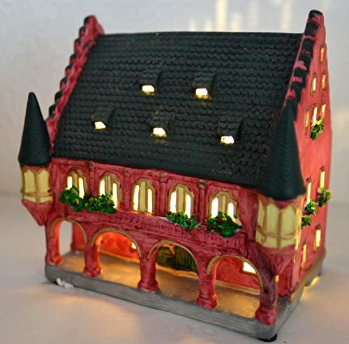 Maison en France orginelles Lichterhaus- Weihnachtshaus Teelicht- das Orginal Steht in Freiburg - das Licht zaubert eine schöne stimmungsvolle Atmosphäre