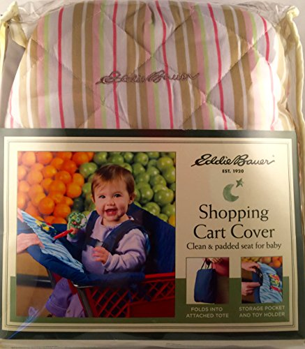 Eddie Bauer Shopping Cart Cover - Pink Patterns Vary