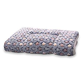ANBIWANGLUO Couvertures de Chien et de Chat pour l'animal de Sommeil Doux 4 Taille 4 Couleur(Bleu Foncé,Medium