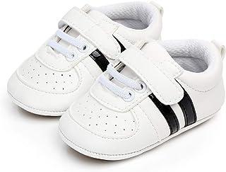 MASOCIO Chaussures Bébé Garcon Fille Premiers Pas Souple Chaussures Antidérapants Sneakers Basses Bébé 3-18 Mois