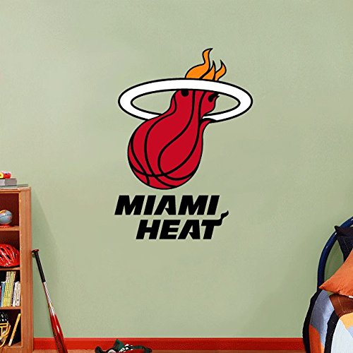 Miami Heat NBA Basketball Home Decor Art Wall Vinyl Sticker 63 x 45 cm