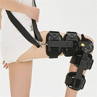 LNDDP Hinged ROM Knee Brace, Adjustable Post OP Patella Brace Support Stabilizer Pad Orthosis Splint Wrap Medical Orthopedic Guard Protector