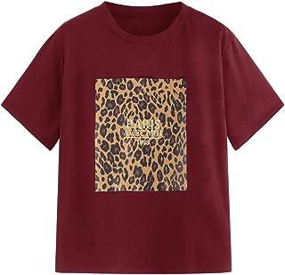 e4251b9d2e0e Amazon.es: Blusas De Leopardo: Ropa