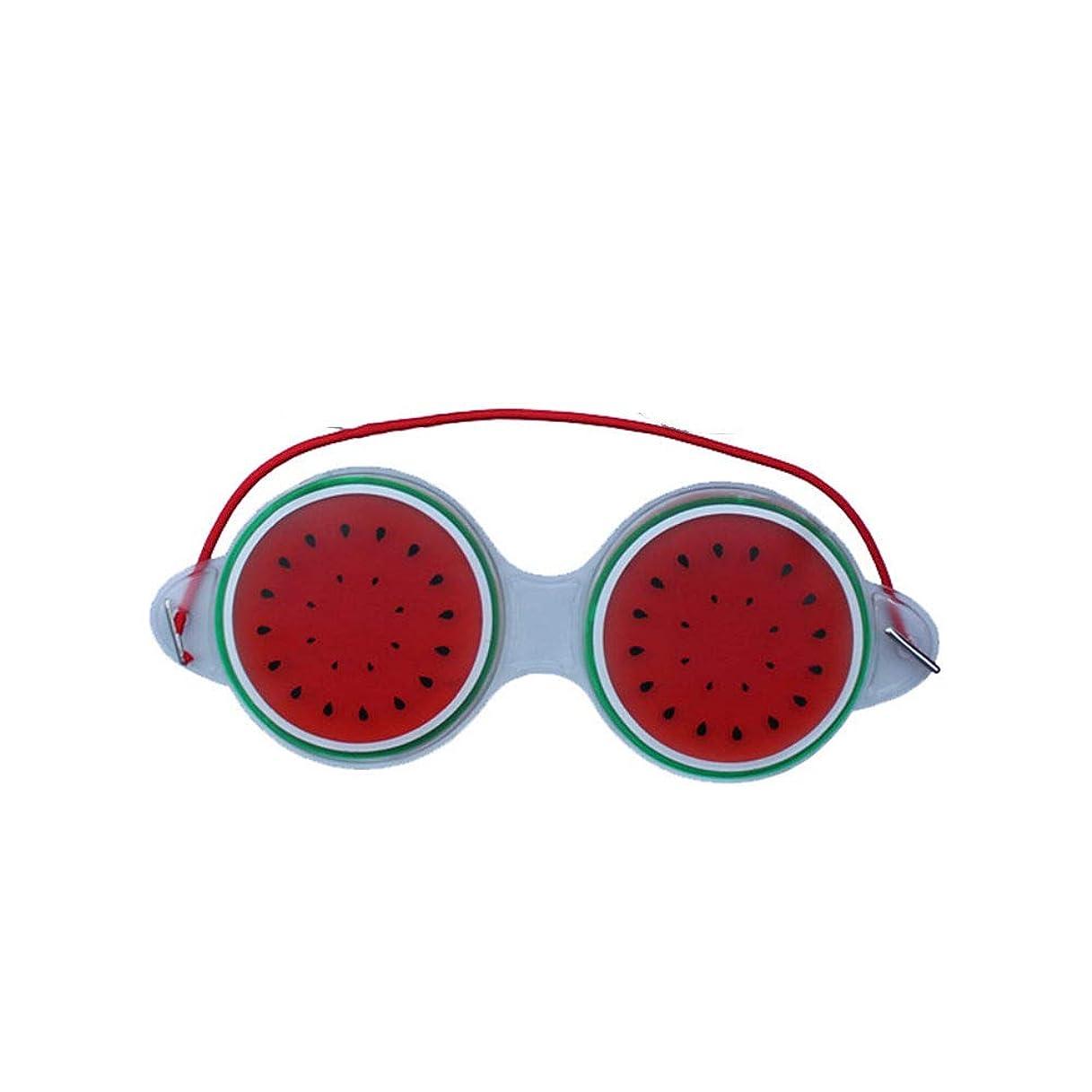 相互接続応答フローティングNOTE ジェルアイマスク睡眠よく圧縮かわいいフルーツジェル疲労緩和冷却アイケアリラクゼーションシールドアイケアツール