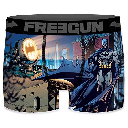 Freegun Herren Boxershorts DC Comics Justice League Batman Gr. S, Batman Comics Light