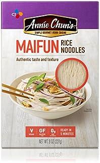 Annie Chun`s Rice Noodles, Maifun, Vegan, Gluten-Free, 8-oz (Pack of 6)