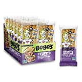 Bobo's Stuff'd Oat Bar, Chocolate Almond Nut Butter, 2.5 Oz. Bar (12 pack), Whole Grain Snack & Protein Bar. Great Tasting & On-The-Go-Snack. Gluten Free, Non-GMO, Vegan, Kosher, and Soy Free.
