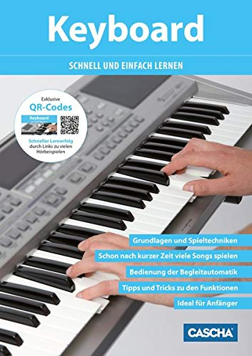 Keyboard - Schnell und einfach lernen (mit QR-Codes)