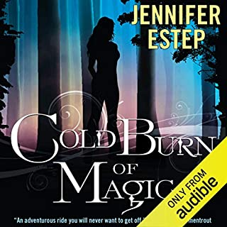 Cold Burn of Magic audiobook cover art