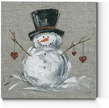 Renditions Gallery Christmas Canvas Wall Art Holiday D cor Santa Workshop Elves North Pole Frosty product image