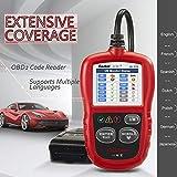 Autel Autolink AL319 Bus Can Diagnosis Multimarca 2 EOBD Auto Scanner Lee y Borra Códigos de Error de Automóviles con Interfaz Estandar OBD II 16 Pines, AL 319