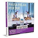 Smartbox - Pausa Relax per Due - Cofanetto Regalo Coppia, 1 Esperienza Benessere per 2 Persone, Idee Regalo Originale