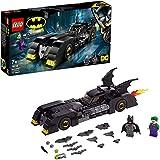 LEGO-DC Comics Super Heroes Batmobile  la poursuite du Joker Jouet DC Comics Enfant 7 Ans et Plus, 342 Pièces 76119