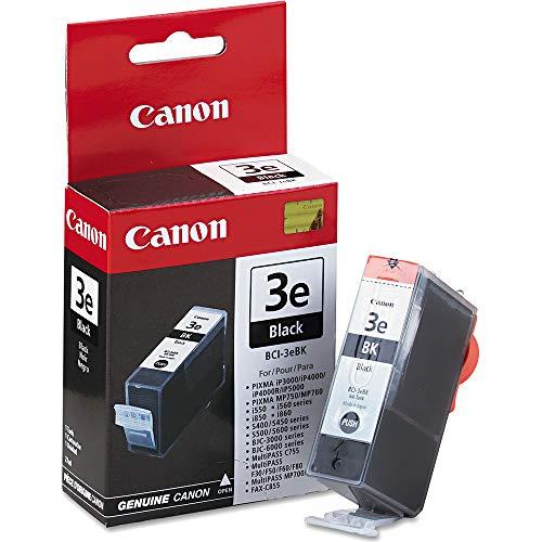 Canon BCI-3eBK (4479A003/4479A249) Black Tank BJC3000/60/00/S400/450 Yield 500 Per Unit