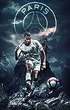 Plein Carré/Rond PSG Logo Diamant Peinture Paris Saint-Germain Football Strass Broderie décoration de la maison,A,40x55cm