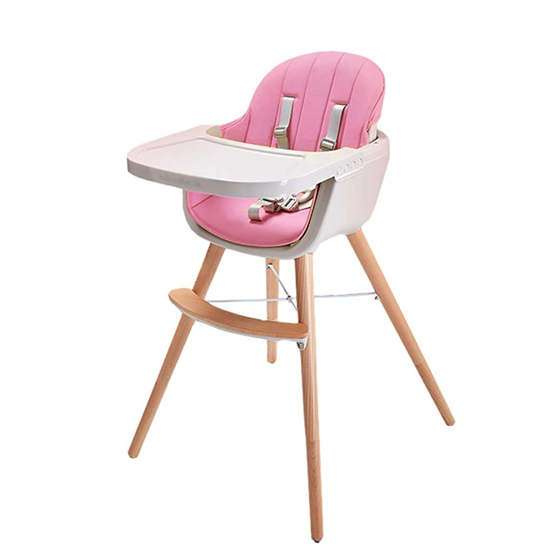 DUWEN High Chair Solid Wood Dining Chair Child Chair Multi-Function Dining Table Seat Children's Seat