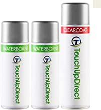TouchUpDirect for Exact Match Automotive Touch Up Paint - Satin White Pearl Tricoat (2005-2012) 37J (Touch up Paint kit)