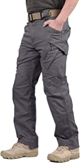 Men's Outdoor Tactical Pants Lightweight Assault Cargo