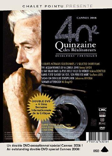 40e quinzaine des Réalisateurs & 47e semaine international de la critique, Cannes 2008