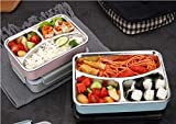 Achyut Bento Box, Lunch Box for Kids and Adults, Leakproof Lunch Containers with Removable...