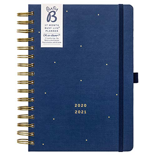 BusyB 17 Month Busy Life Planner Terminkalender One Size 2021 Navy