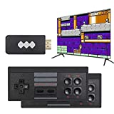 No.eight Upgrade Wireless Old Arcade Classic Retro Video Game Console with 818 Video Game Consoles, Video Handheld Game Console, AV Connection, 8 bits