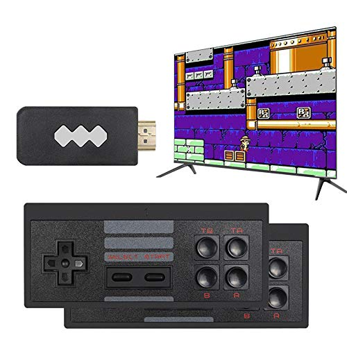 No.eight Upgrade Wireless Old Arcade Classic Retro Video Game Console with 818 Video Game Consoles,HD Video Handheld Game Console, AV Connection, 8 bits