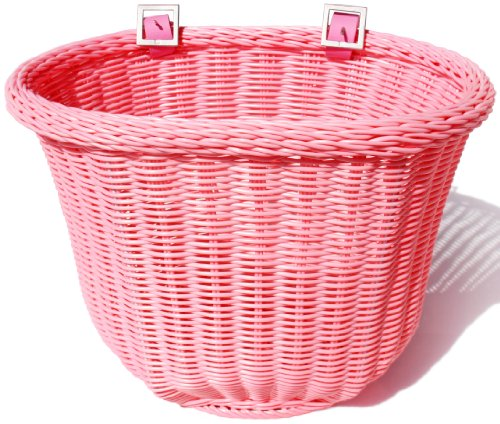 Review Colorbasket Adult Front Handlebar Bike Basket - Pink