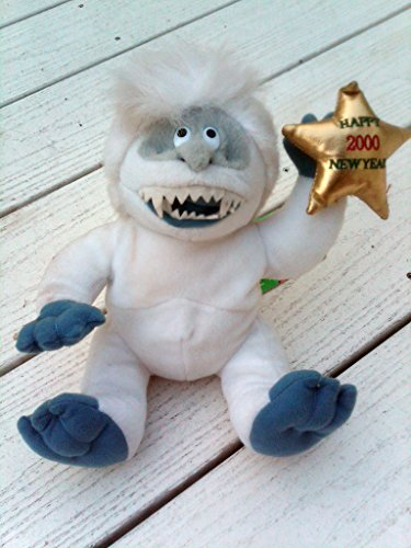 CVS Abominable Snowman Bumble Yeti Logo 10 inch Beanie Plush - Rudolph Island of Misfit Toys