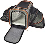 Mr. Peanut's Double Expandable Airline Approved Soft Sided Pet Carrier Crate