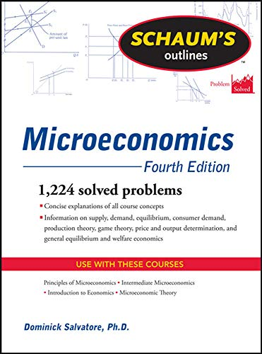 Schaum's Outline of Microeconomics (Schaum's Outlines)