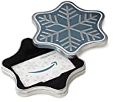 Amazon.co.uk Gift Card for Custom Amount in a Snowflake Tin