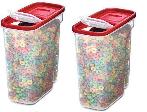 Rubbermaid Modular Cereal Keeper Pack of 2