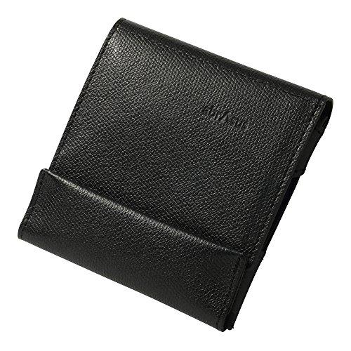 左きき用 薄い財布 abrAsus アブラサス(ブラック)