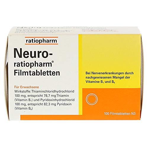 Neuro-ratiopharm Filmtabletten, 100 St. Tabletten
