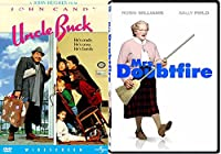 Mrs. Doubtfire + Uncle Buck DVD Fun Comedy 80's movie Set Double Feature