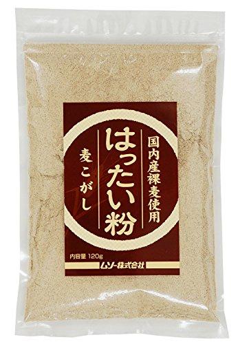 ムソー 国内産裸麦使用 はったい粉 10g