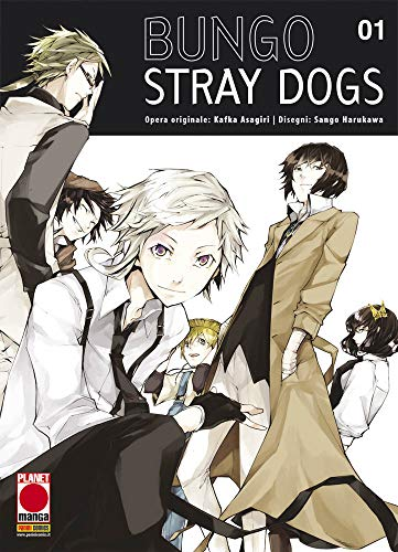 #MYCOMICS Bungo Stray Dogs N° 1 - Ristampa - Planet Manga – Panini Comics – Italiano