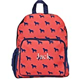 Personalized Childrens Toddlers Preschool Backpacks for Girls and Boys (Dog Days)