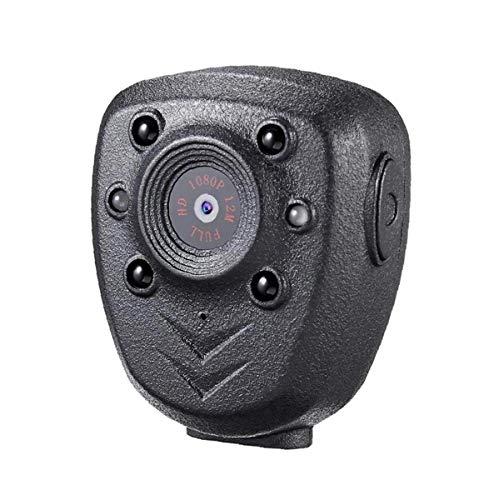 Berrywho Cuerpo de la cámara Mini usable visión Nocturna 1080P CAM 32GB de Memoria portátil para el hogar al Aire Libre