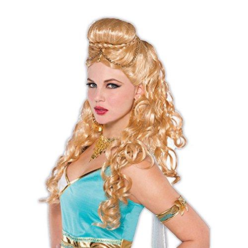 amscan 843277-55 Party-Perücke Göttin blond, 1 Stück